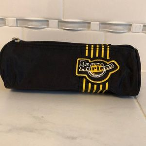 Dr. Martens black zip up pencil case